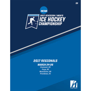 2017 NCAA Division I Men's Ice Hockey Championship Regionals Program