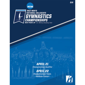 2017 NCAA Men's Gymnastics Championship Program