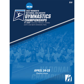 2017 NCAA Women's Gymnastics Championship Program