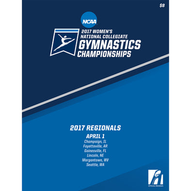 2017 NCAA Women's Gymnastics Regionals Program