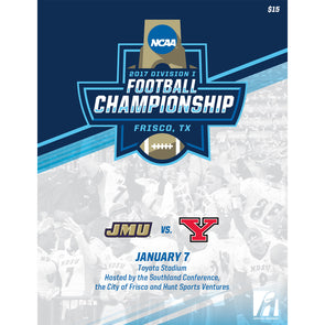 2017 NCAA Division I Football Championship Program