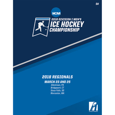 2018 NCAA Division I Men's Ice Hockey Championship Regionals Program