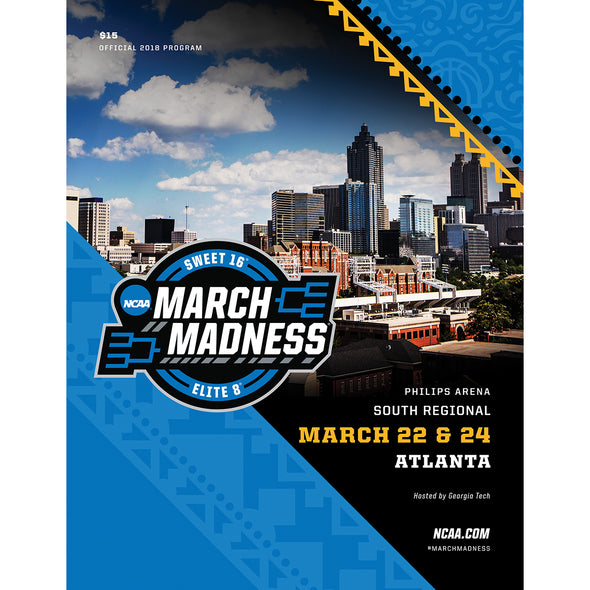 2018 NCAA Division I Men's Basketball South Regional Atlanta Program