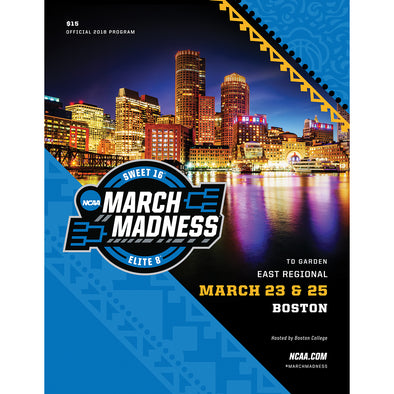 2018 NCAA Division I Men's Basketball East Regional Boston Program
