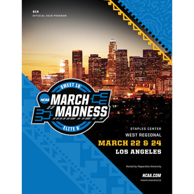 2018 NCAA Division I Men's Basketball West Regional Los Angeles Program