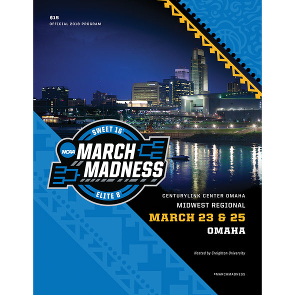 2018 NCAA Division I Men's Basketball Midwest Regional Omaha Program
