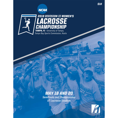 2018 NCAA Division II Women's Lacrosse Championship Program