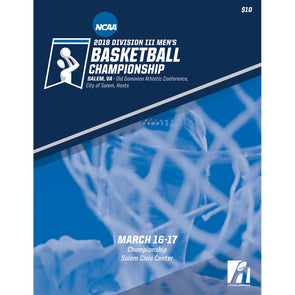 2018 NCAA Division III Men's Basketball Championship Program