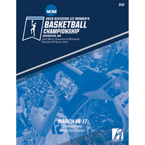 2018 NCAA Division III Women's Basketball Championship Program
