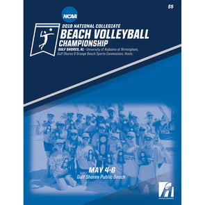 2018 NCAA Beach Volleyball Championship Program