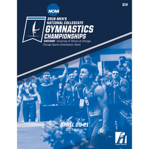 2018 NCAA Men's Gymnastics Championship Program
