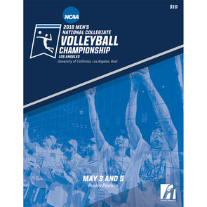 2018 Men's National Collegiate Volleyball Championship Program