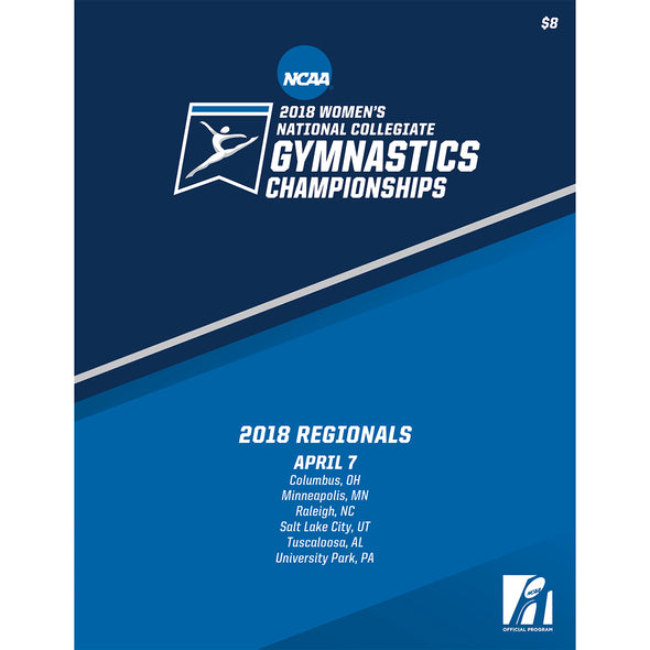 2018 NCAA Women's Gymnastics Regionals Program