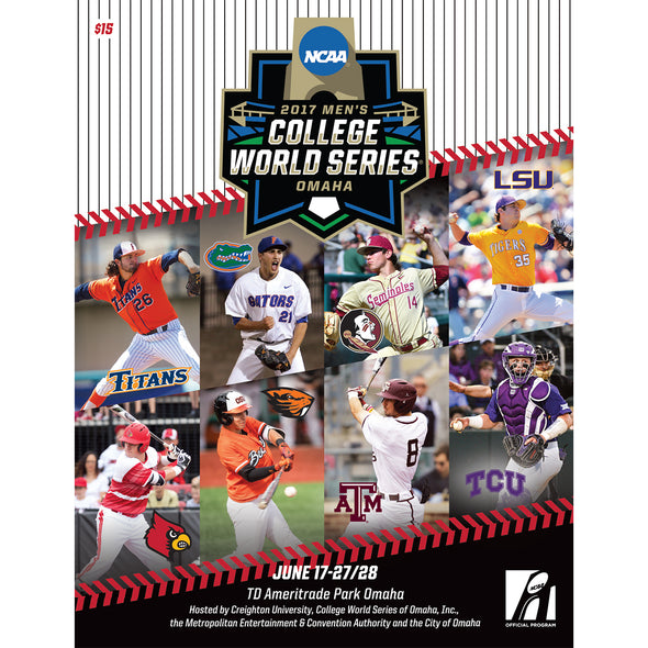 2017 NCAA Men's College Baseball World Series Program