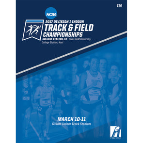 2017 NCAA Division I Indoor Track and Field Championship Program