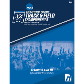 2018 NCAA Division I Indoor Track and Field Championship Program
