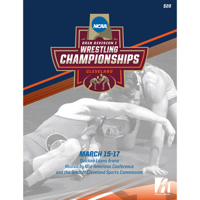 2018 NCAA Division I Wrestling Championship Program
