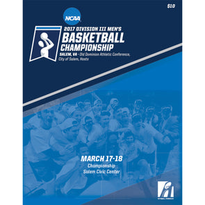 2017 NCAA DIII Men's Basketball Championship Program