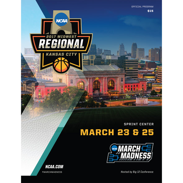 2017 NCAA Division I Men's Basketball Midwest Regional Kansas City Program
