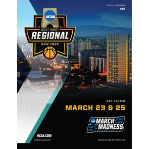 2017 NCAA Division I Men's Basketball West Regional San Jose Program