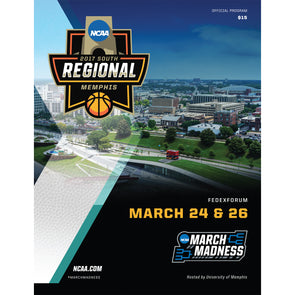 2017 NCAA Division I Men's Basketball South Regional Memphis Program