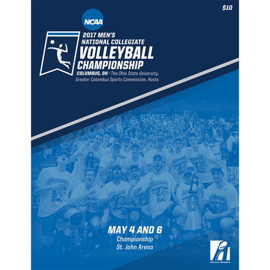 2017 NCAA Men's National Collegiate Volleyball Championship Program