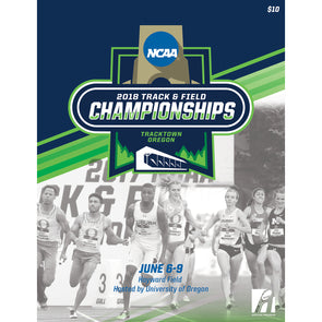 2018 NCAA Division I Track and Field Championship Program