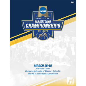 2017 NCAA DI Men's Wrestling Championship Program