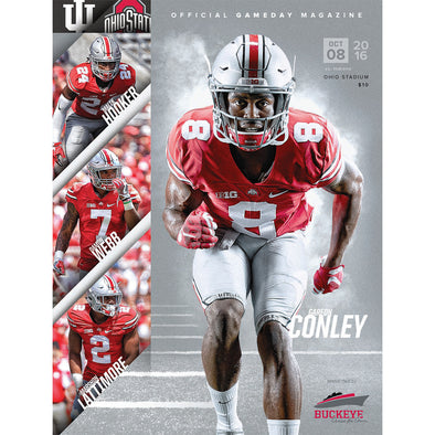 2016 Ohio State Football Official Gameday Program vs. Indiana, October 8