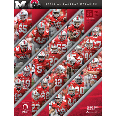 2016 Ohio State Football Official Gameday Program vs. Michigan