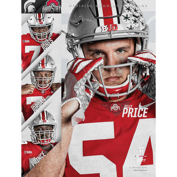 2017 Ohio State Football Official Gameday Program vs. Michigan State