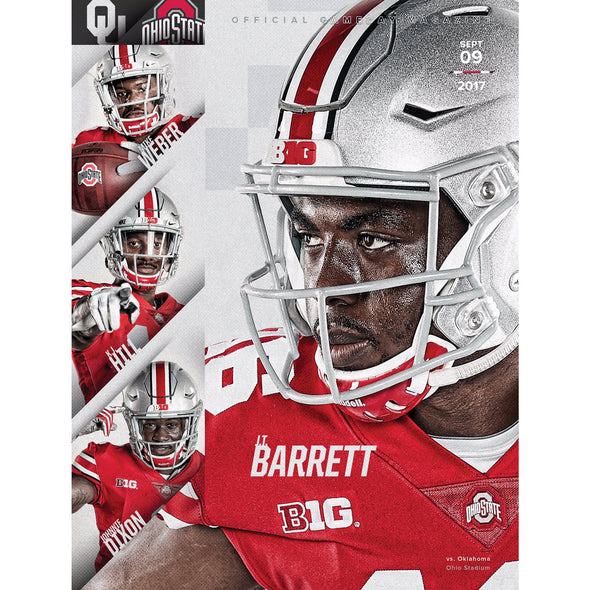2017 Ohio State Football Official Gameday Program vs. Oklahoma