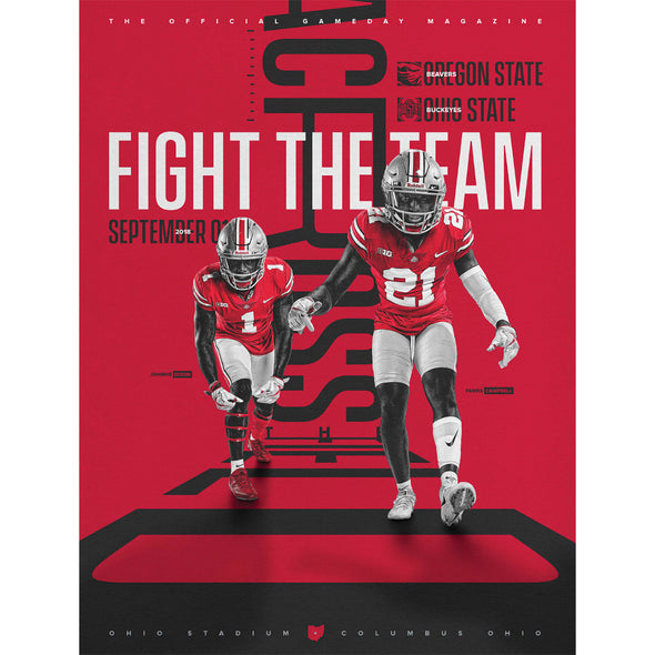 2018 Ohio State Football Official Gameday Program vs. Oregon State, September 1