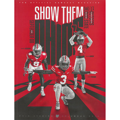 2018 Ohio State Football Official Gameday Program vs. Rutgers, September 8