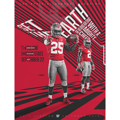 2018 Ohio State Football Official Gameday Program vs. Tulane, September 22