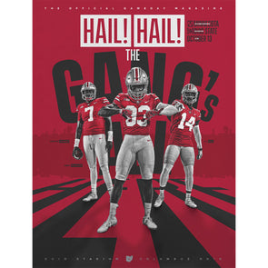 2018 Ohio State Football Official Gameday Program vs. Minnesota, October 13