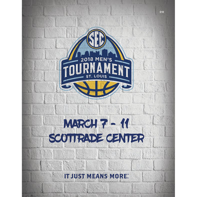 2018 SEC Men's Basketball Tournament Program