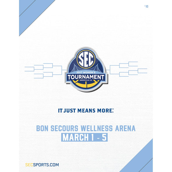 2017 SEC Women's Basketball Championship Program