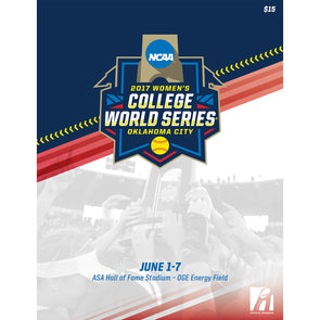 2017 NCAA Women's College Softball World Series Program
