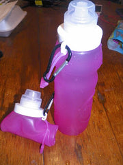 collapsible water bottle pros and cons as workout water bottle