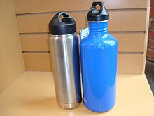 stainless steel water bottles are also good workout bottles