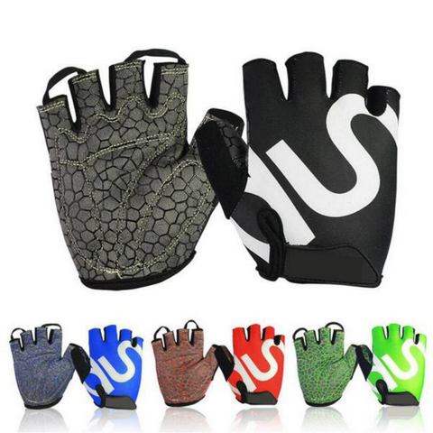 HALF FINGER WEIGHTLIFTING GLOVES S-XXL