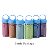 polyester bottle packaged towel