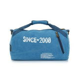 GDA Blue Duffle Gym Bag