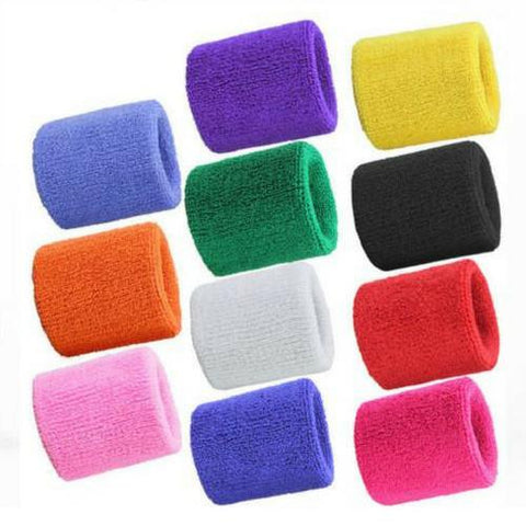 Sweat absorbent Gym Wristbands