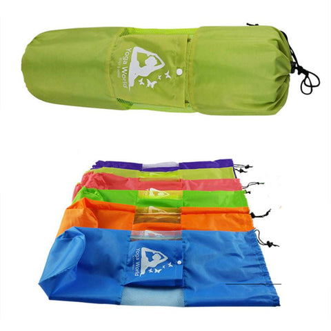 Yoga Mat Bag with Cargo Pocket