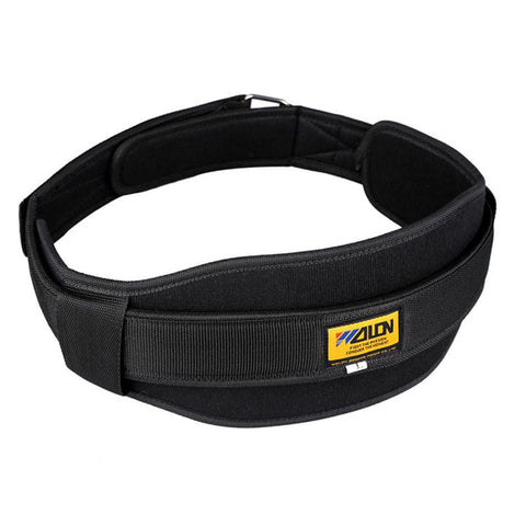 "6"" nylon weightlifting belt 