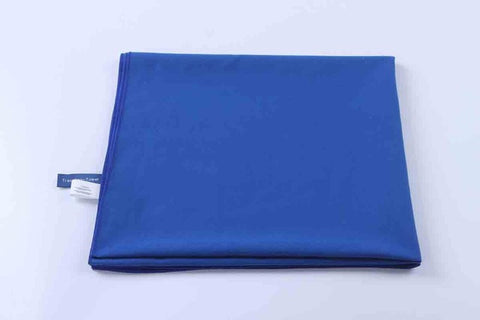 BLUE MICROFIBER GYM TOWEL