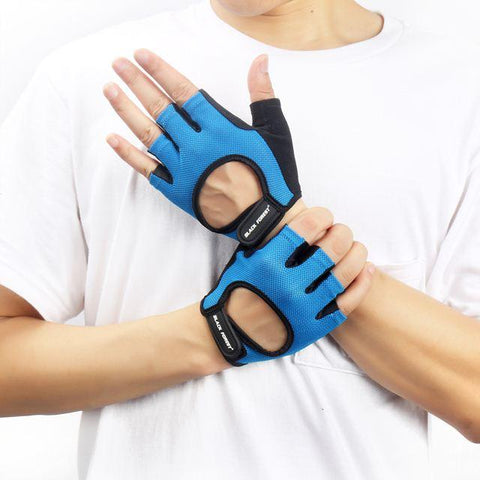 Men & Women Hollow Finger-less Gloves