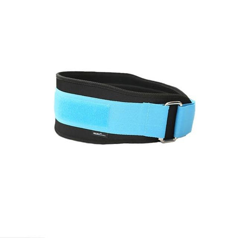 Women sky Blue Adjustable Weightlifting Belt